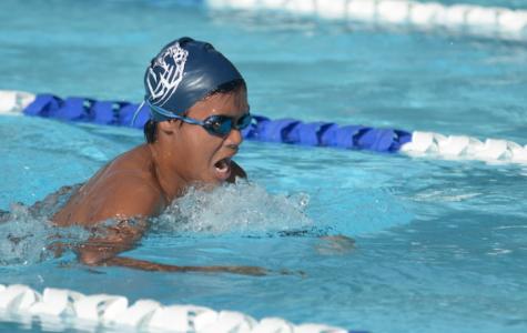 Boys swimming sinks Pirates, Brevard HEAT