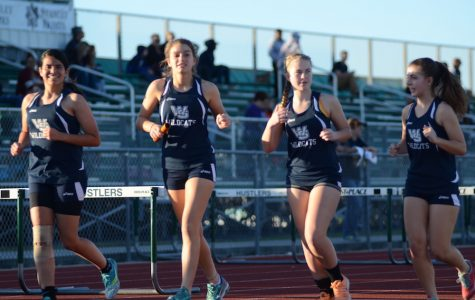 Girls' track team sets Wildcat record