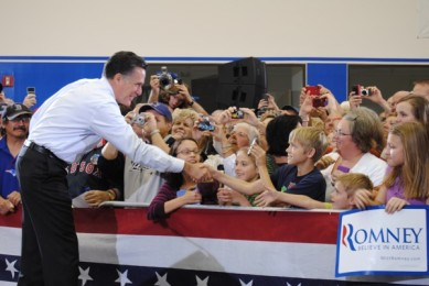Romney visits Cape Canaveral