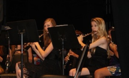 Wind Ensemble helps send off seniors