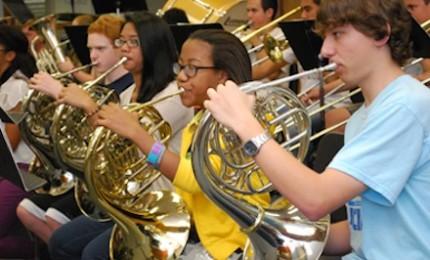 Band students impress at Solo and Ensemble