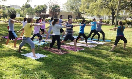 Senior Project yoga class deemed success