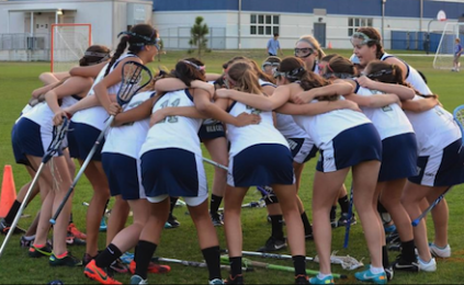 Girls' lacrosse suffers first loss to Mustangs