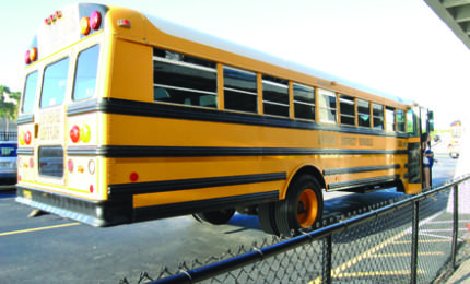 Administration deals with loss of buses