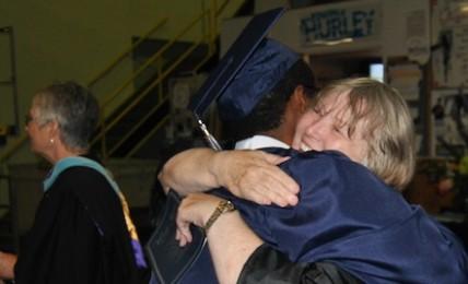 Seniors graduate in 'perfect' ceremony