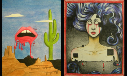 Artists' work on display at Dali museum