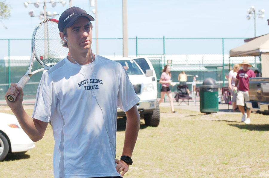 Senior Erich Heinricher hopes to lead the boys past Merritt Island at the upcoming regional tournament.