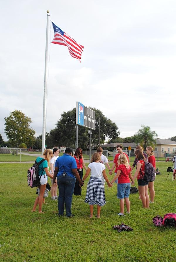 See You at the Pole, and annual prayer day for schools, has been sponsored by FCA.