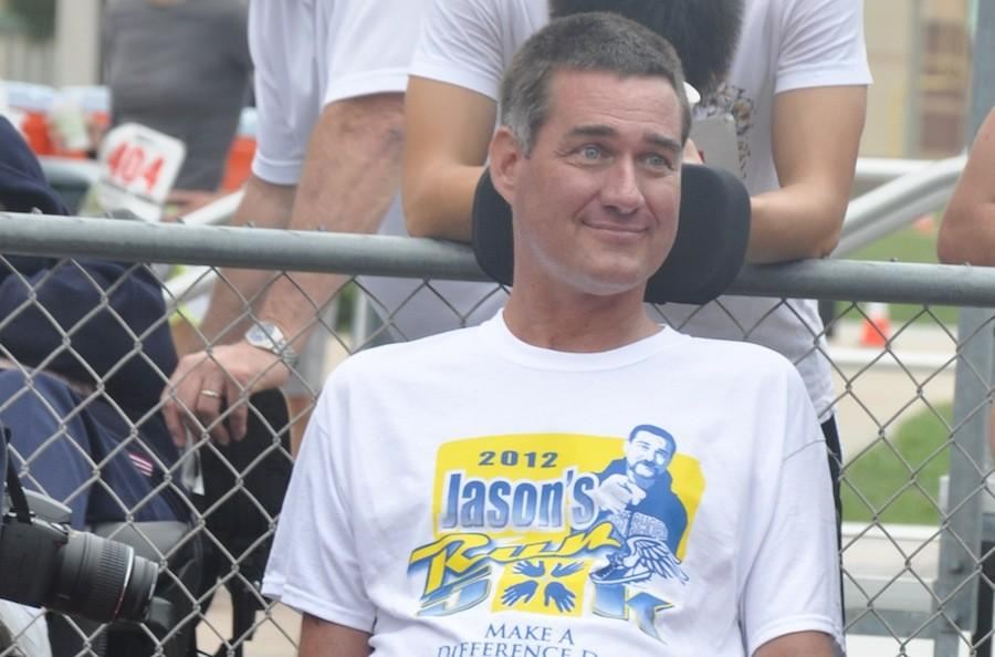Former West Shore teacher and coach Jason Whitworth was diagnosed with ALS in 2011.