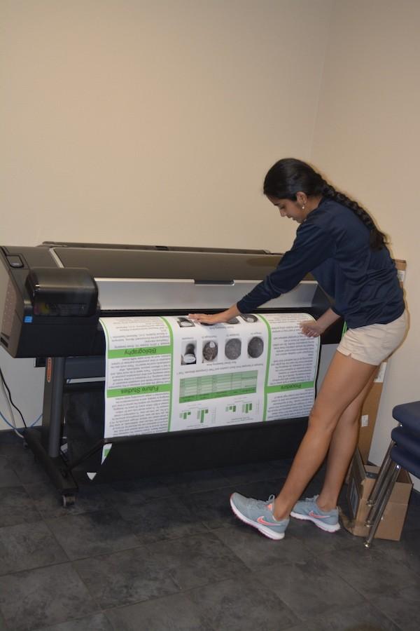 Poster printing prep