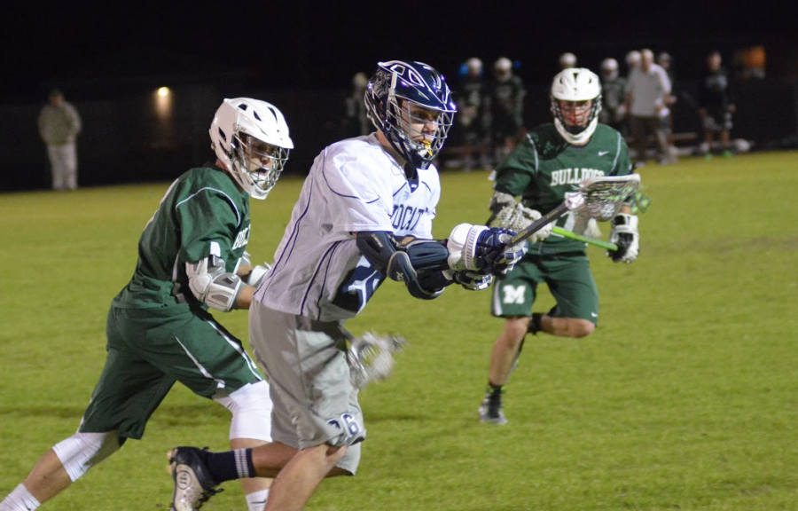 Boys' Lacrosse falls to Bulldogs in OT