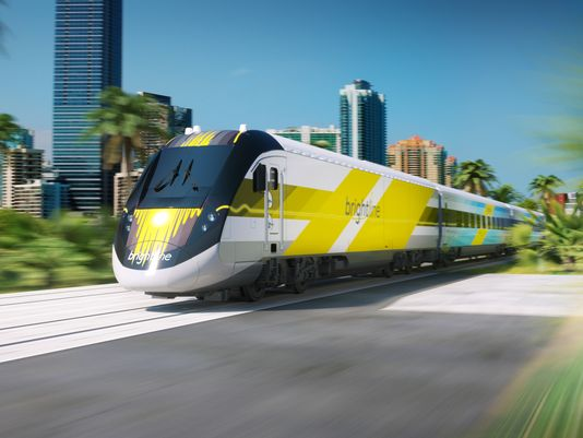 Connecting Orlando to Miami, Brightline will pass through Brevard.