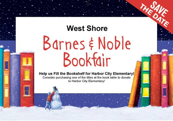 Barnes and Noble Bookfair set for Wednesday