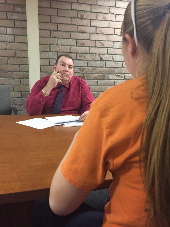Dr. Whitacre Helps Senior Capstone Students