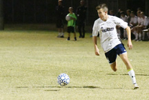 Junior Abe Murphy scored two goals against Bishop Moore on Saturday night.