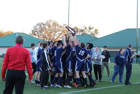 Boys' soccer team road to States