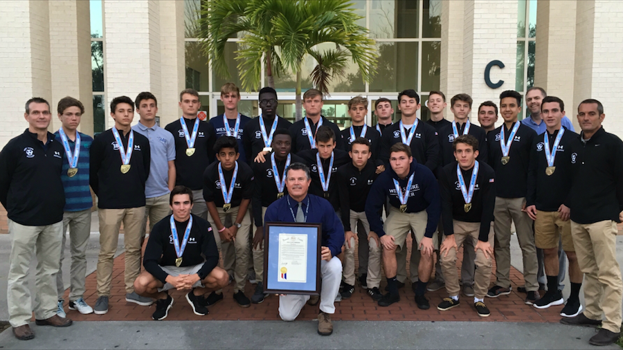 Boys%27+varsity+soccer+team+honored+by+county+commission