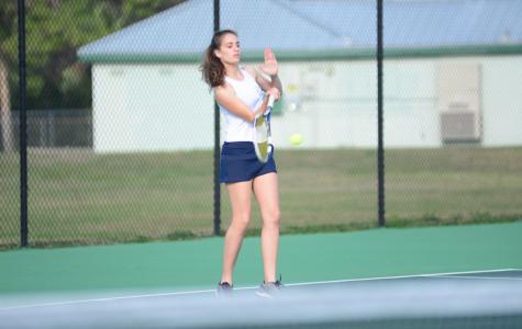 Girls' tennis eliminated in first round of regionals