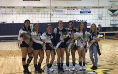 Girls' volleyball rips Brevard Heat on Senior Night