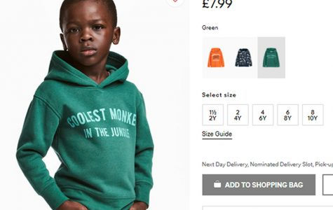 H&M shoppers ponder worst ad in the jungle