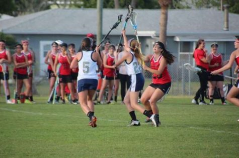 Girls' lacrosse team falls in opener 6-5