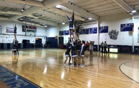 Cheer team says goodbye to season