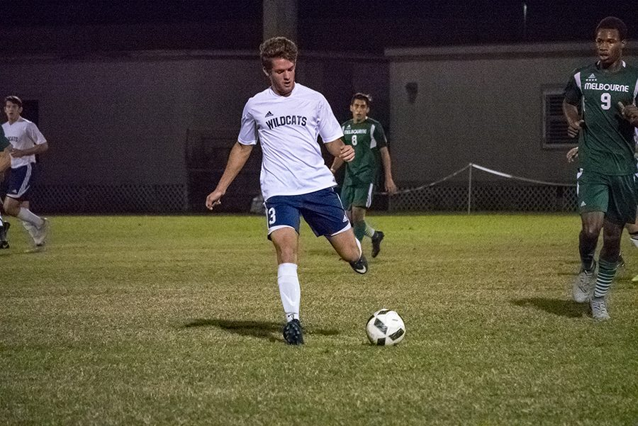 Junior+Collin+Robidoux+says+his+team+confident+going+forward+in+the+playoffs.