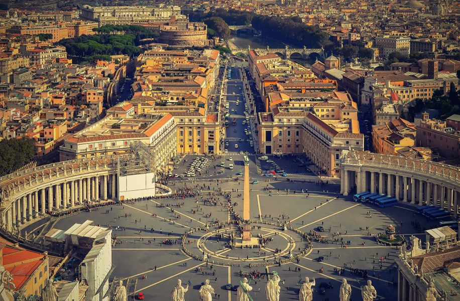 The participating students will tour several parts of Italy, including Rome.