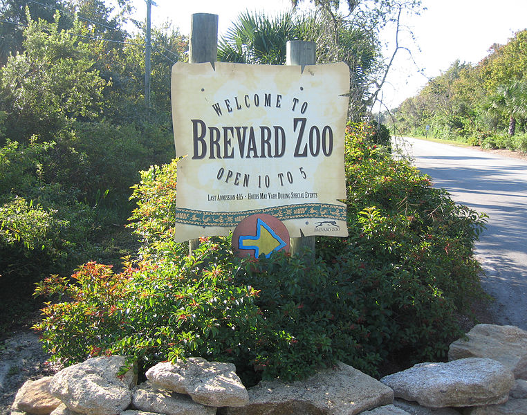 The+Brevard+Zoo+is+located+at+Wickham+and+Murrell+roads+in+Suntree.