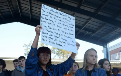 Walkout honors Parkland victims