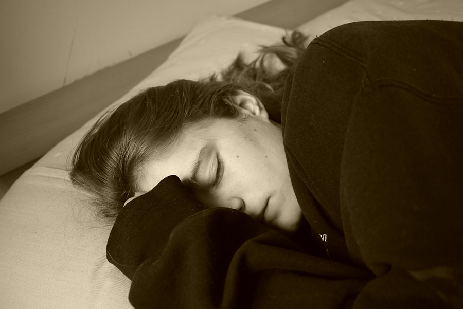 A new study shows 15 percent of teens are not getting eight hours of sleep a night.