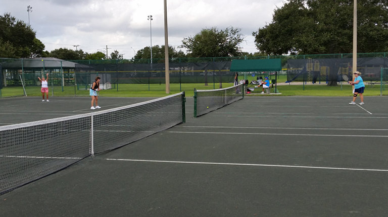 The Fee Avenue Park tennis courts are located within five minutes of campus.
