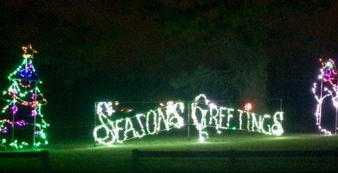 Space Coast Light-fest illuminates Wickham Park