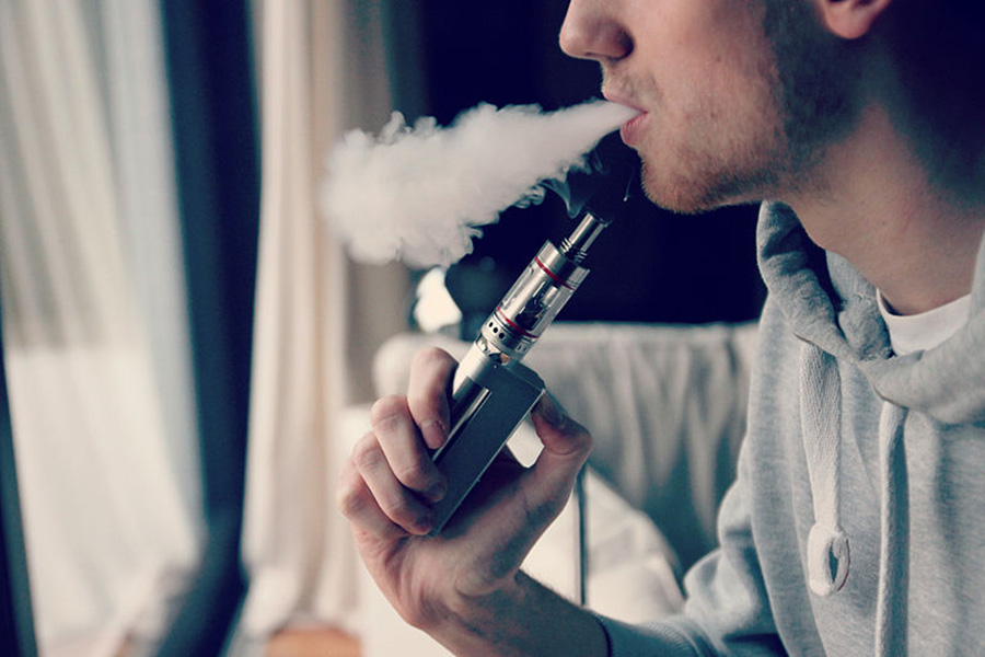 Supporters of Amendment 9 hope to put an end to vaping in enclosed public spaces.