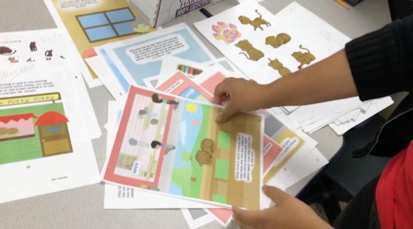 Art+students+illustrate+children%27s+book