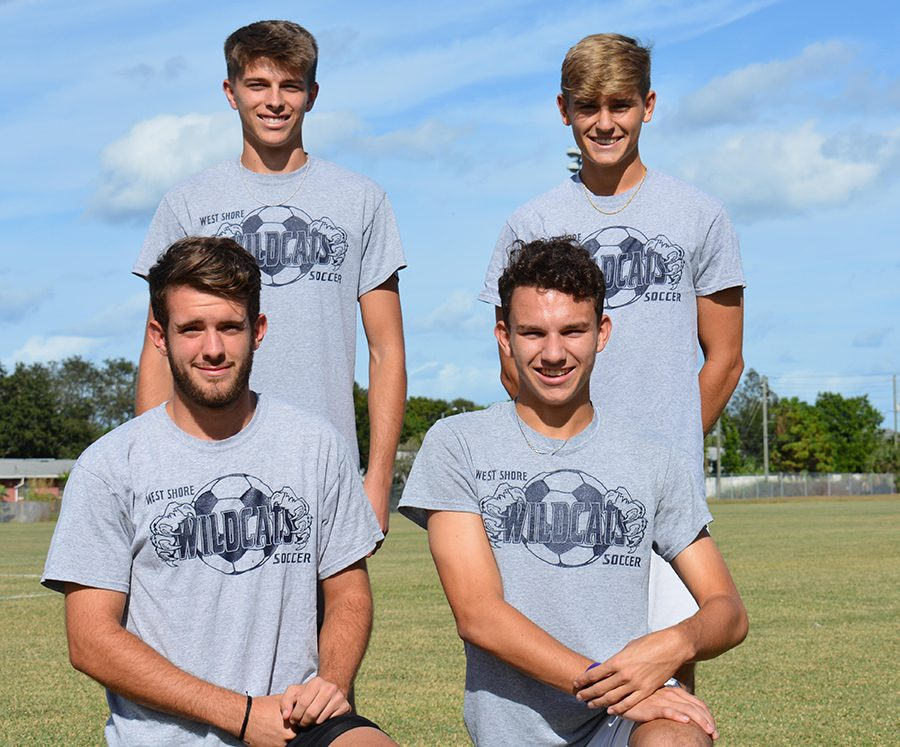 Senior soccer stars reflect on the past eight years of playing together
