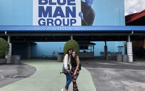 Blue Man Group inspires  thespians with creativity