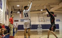Star basketball player survives injury scare