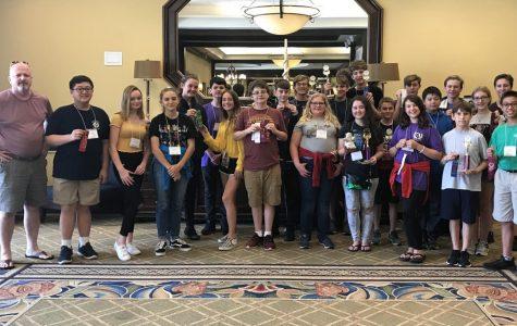 Latin students shine at state forum