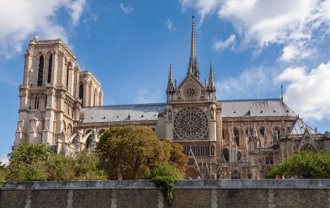 Notre Dame fire shocks students