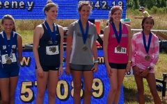 Girls' cross-country team places sixth