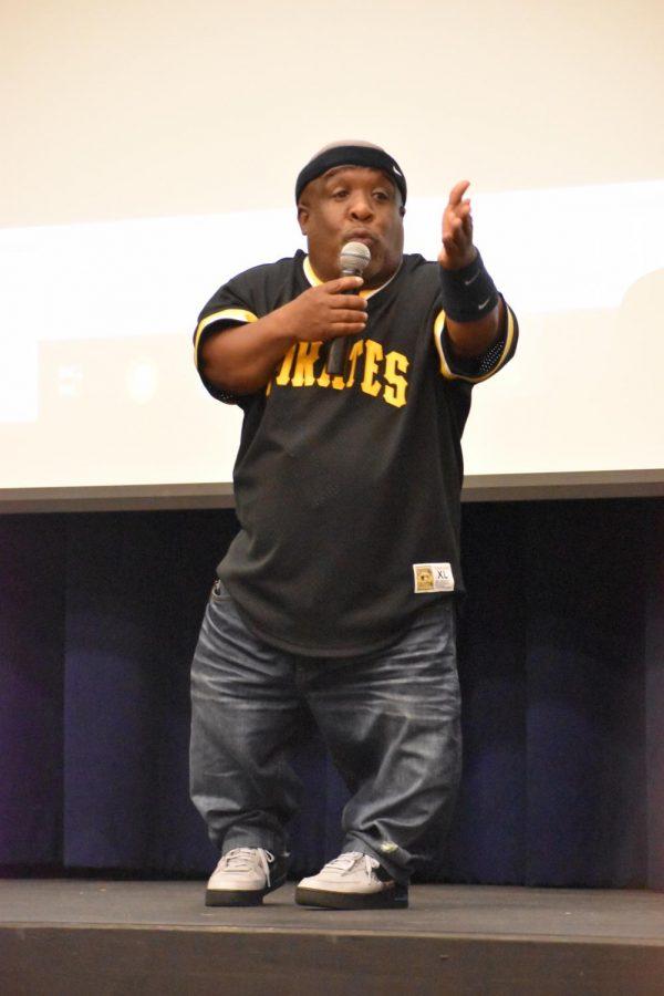 Motivational speaker sparks inspiration