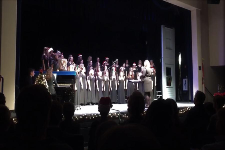 Last year's winter chorus concert.