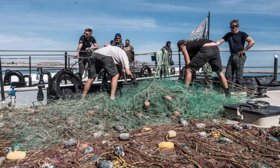 Abandoned+fishing+nets+are+just+left+to+pollute+the+ocean