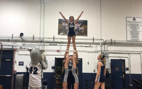 Transfer cheerleader swaps allegiances