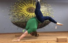 Teacher 'bends' the rules with aerial yoga