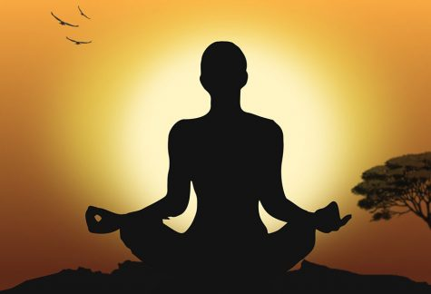 Meditation helps some cope with isolation stress