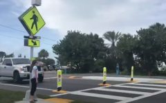 Navigation to Story: A1A crosswalk changes draw complaints