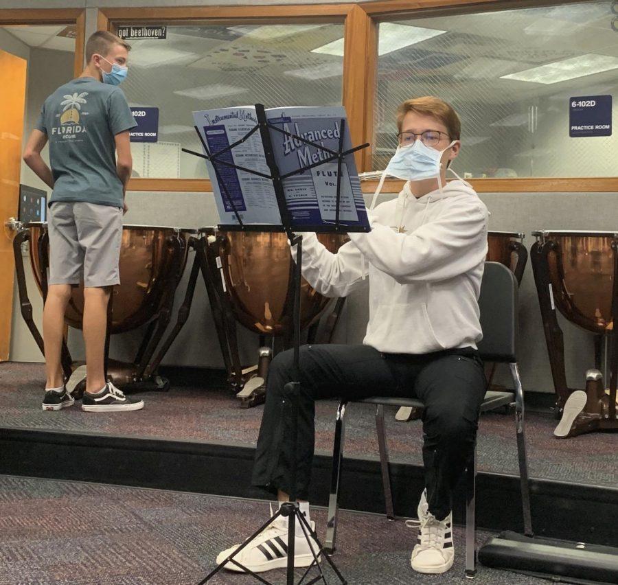 Band classes adjust to meet COVID-19 regulations