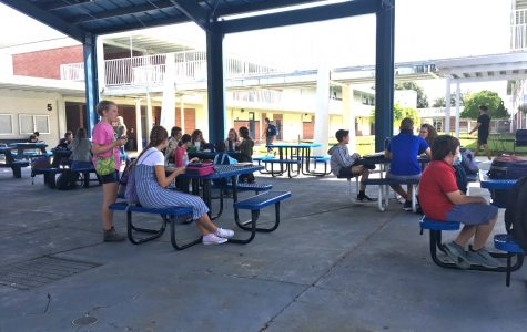 Lunch time loses power with new schedule